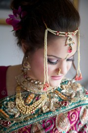 A bewildering display of jewellery to complement the glorious sari