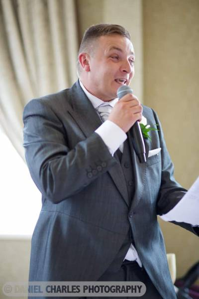 best man's speech in 30 james street wedding