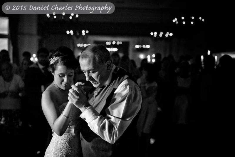 bride dancing with her dad
