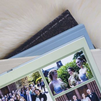 The Ellesmere album for the silver package comes with a wide choice of cover materials and colours